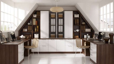 Hepplewhite Fitted Home Office | Gordon Busbridge Furniture | Hastings, Eastbourne, Seafrod, Bexhill, St Leonards on Sea