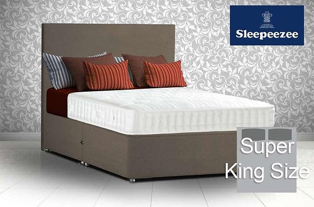Sleepeezee Superfirm 1600 Super King Size Divan Bed