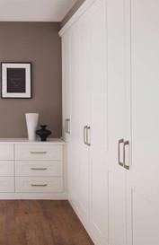 Hepplewhite Kingsbury wardrobes in White