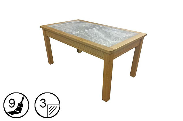 Trentham Large Coffee Table - Tile Top