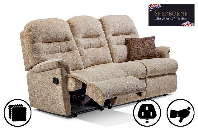 Sherborne Keswick Small 3 Seater Recliner Sofa