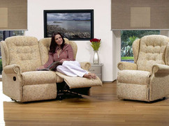 Sherborne Lynton Fabric 2 Seater Recliner Sofa & Armchair   Gordon Busbridge Furniture   Hastings, Eastbourne, Seafrod, Bexhill, St Leonards on Sea