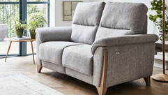 Ercol Enna Leather 2 Seater Sofa | Gordon Busbridge Furniture & Beds Store | Hastings, Eastbourne, St Leonards on Sea, Bexhill & Seaford
