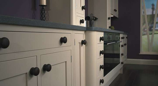 Marpatt Bespoke In-frame Collection - Shaker in Ivory (handle cameo)
