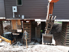 Foundation Replacement Job Eaton Road To