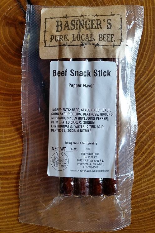 4 oz Pepper Snack Sticks