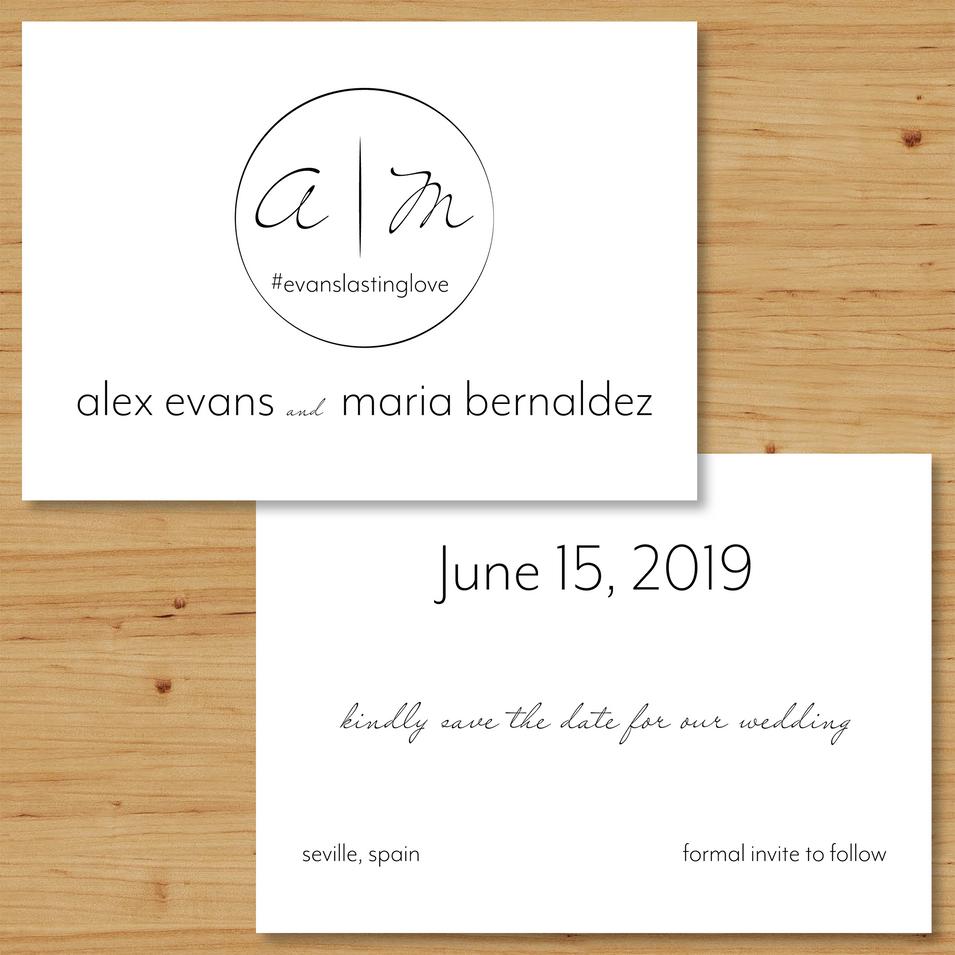 Evans/Bernaldez Save the Date