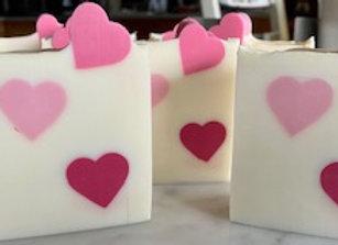 FLORAL - WILD ROSE GOAT MILK BAR SOAP