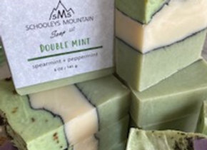 HERBAL - DOUBLE MINT BAR SOAP