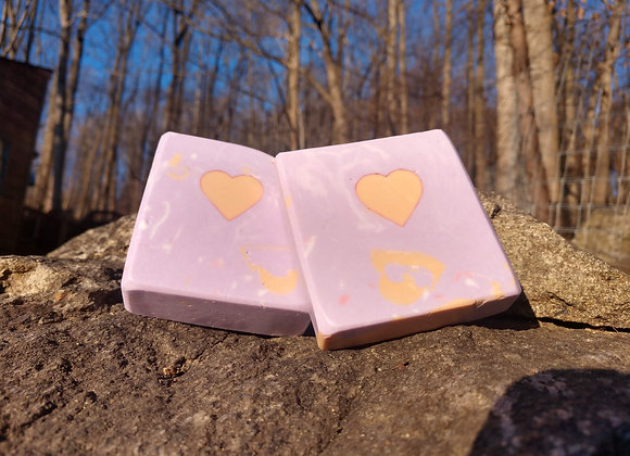 SPICY - LAVENDER GOAT MILK BAR SOAP