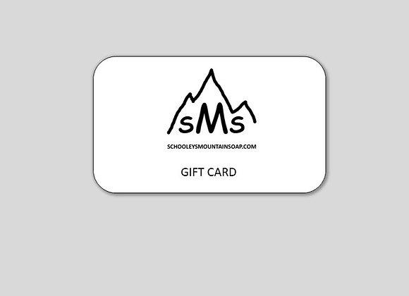 GIFT CARD, eGIFT CARD