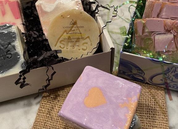 BOX SET OF 3 ALL NATURAL ARTISAN SOAPS