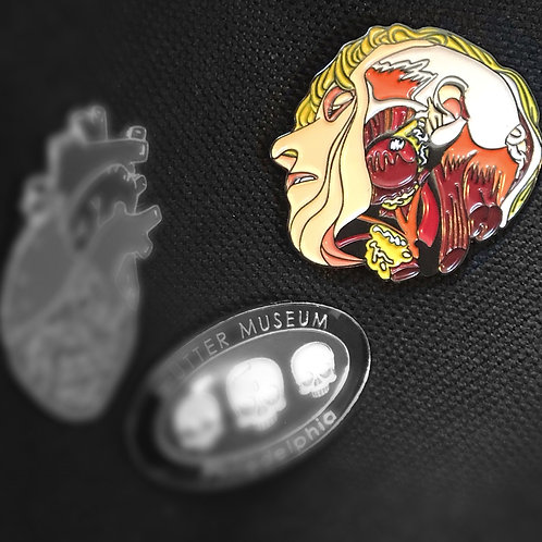 """Christophé"" Enamel Pin"