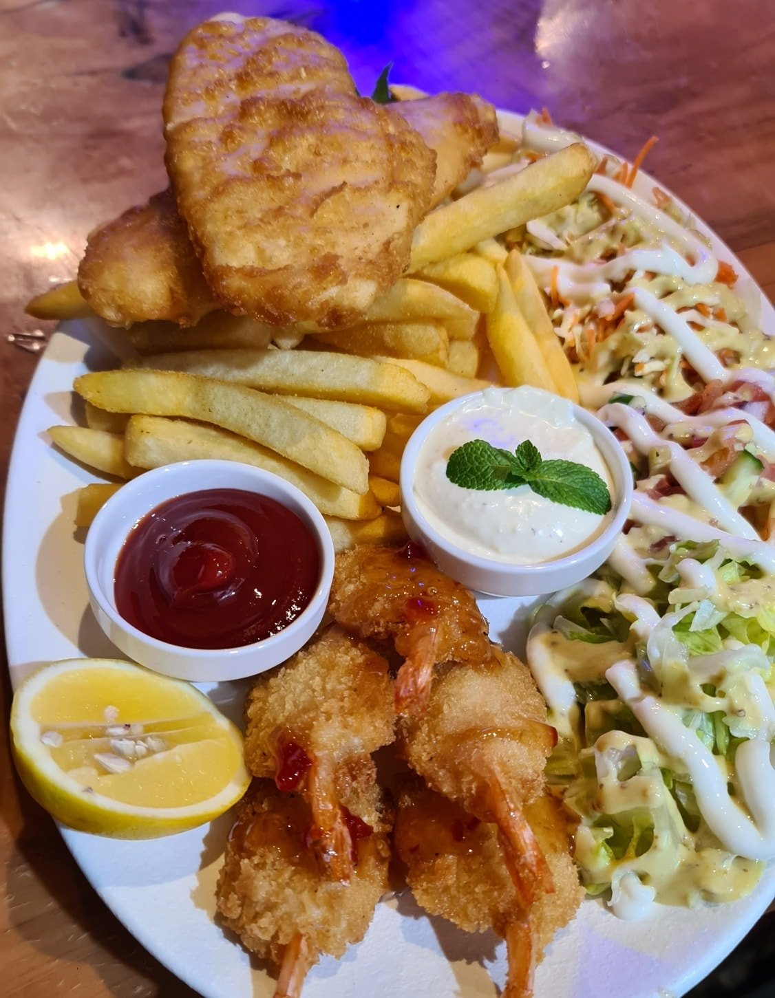 Beer Battered Snapper