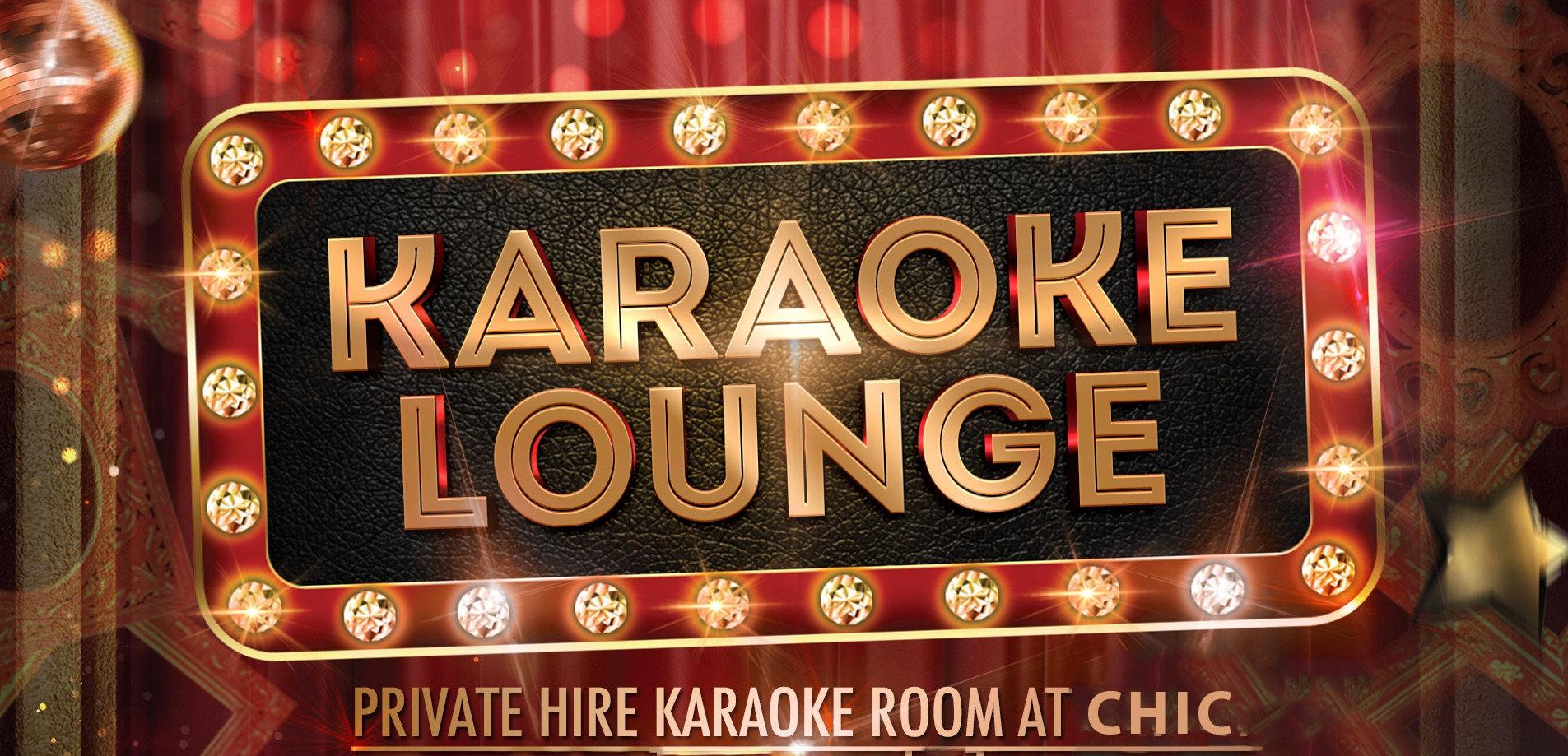 Private Karaoke Sunday - Thursday rate