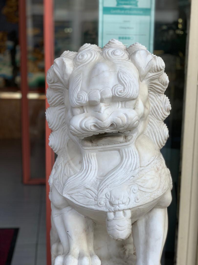 china moon décor statue aquarium