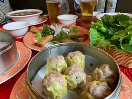 plats diner soupe pho dim sum nems