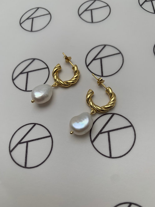 Rani | Pearl Earrings
