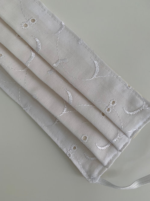 White Broderie Anglaise