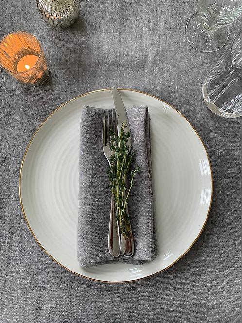 Slate - Linen napkins  (Set of 4)