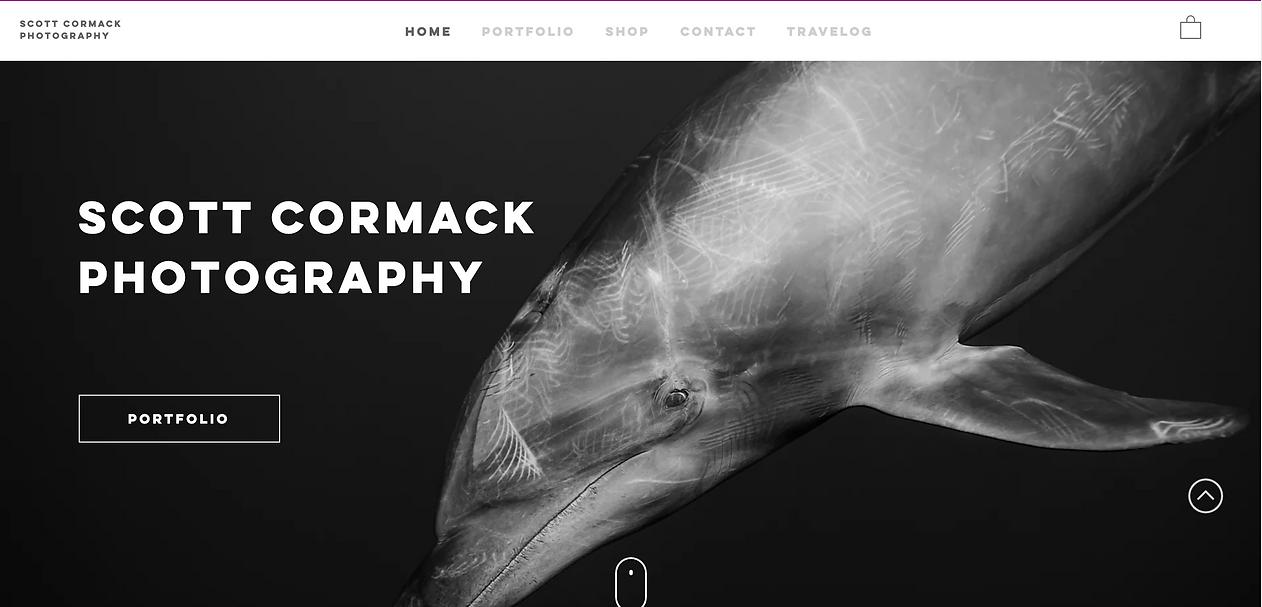 scott cormack photography homepage