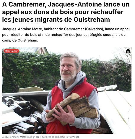Jacques-Antoine Motte lance un appel pour réchauffer les jeunes migrants-OuestFrance-2021-02-10 à 19.41.54.