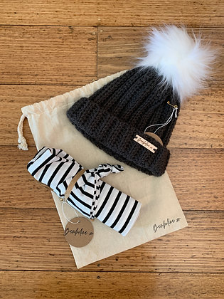 Black Stripe Gift Set