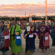 Traditional Ladies at the Powwow