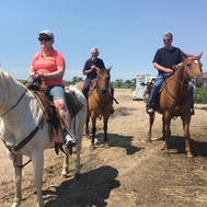 Getting ready to ride the Little Bighorn