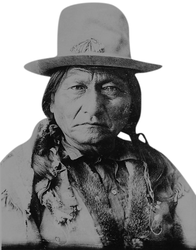 Sitting Bull at the Little Bighorn