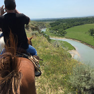By the Little Bighorn River