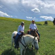 Horseback on the Little Bighorn Battlefield