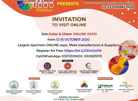 Color & Chem Online Expo * Pakistan *
