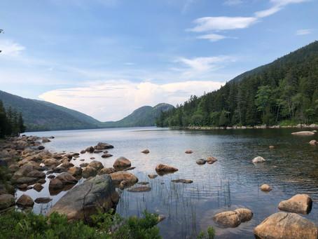 Acadia National Park Road Trip