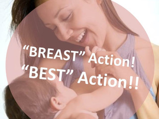 BrEaST (Best) Action: 餵母乳係先苦後甜