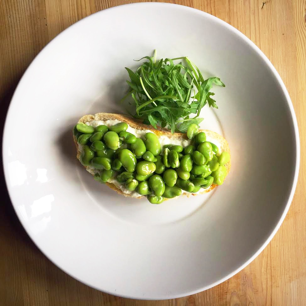 Canaletto - Broad Bean Bruschetta