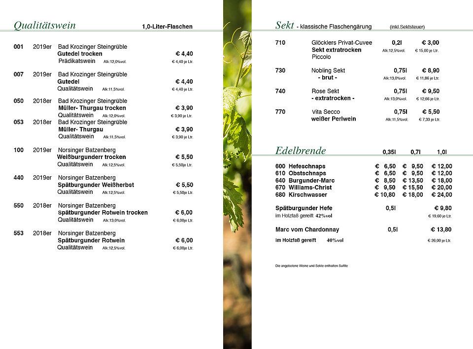 Preisliste Weingut Glöckler neu groß 5.