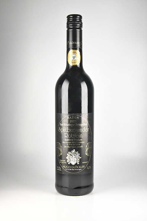 Spätburgunder Rotwein Spätlese trocken 0,7l