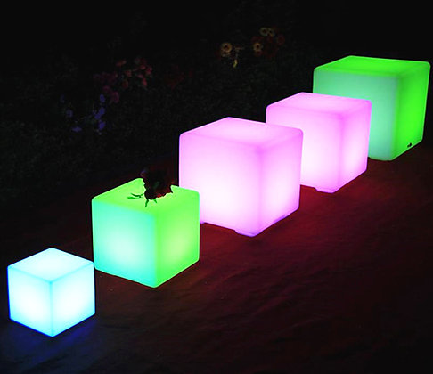 "Glow Cubes 16"""