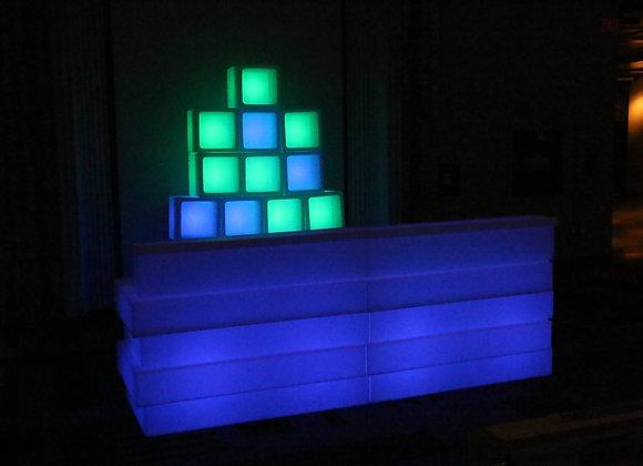 Glow Cubic Tank