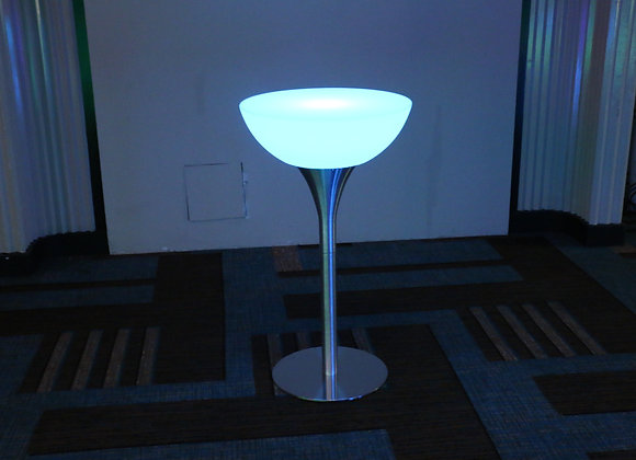LED High Cocktail Table