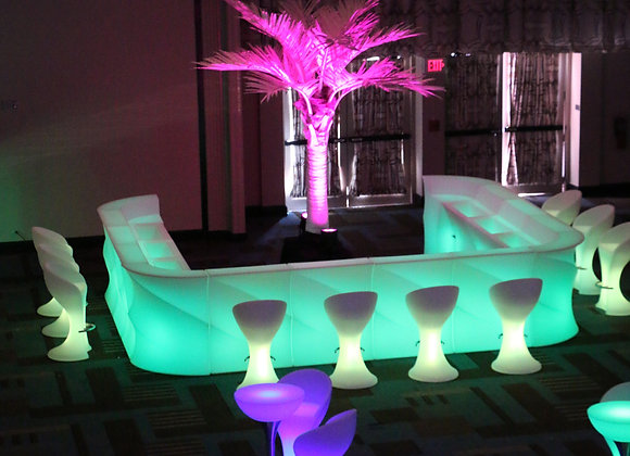 Glow Sectional Bars (wavy)