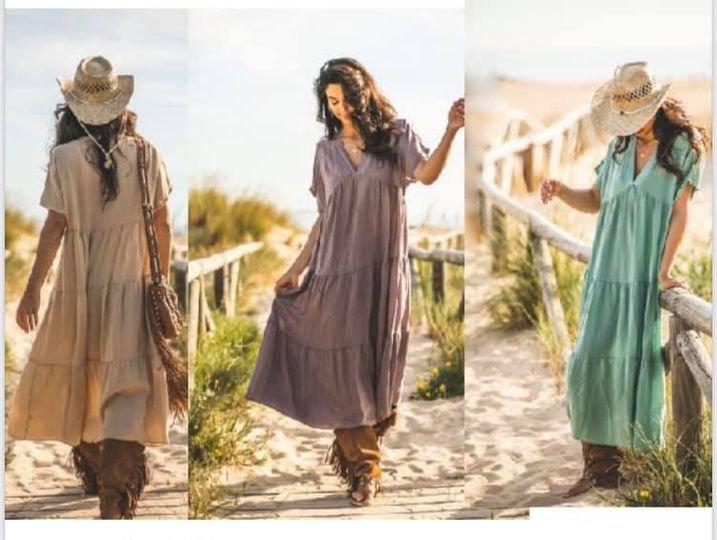 Linnen boho jurk Tarifa of Soul