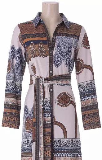 K-design maxi dress boho