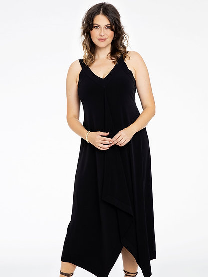Yoek lange jurk 9207192