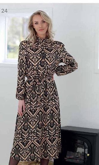 Lange jurk Sophia Perla