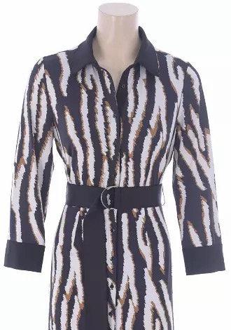 K-design maxi dress zebra