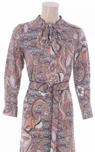 K-design maxi dress print