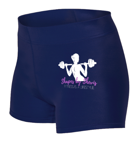 Women's/Girl's Low Rise Compression Shorts
