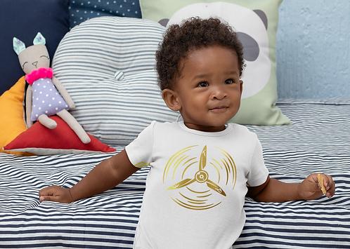 The Flying Princess Infant/Toddler Original Logo Tee